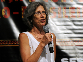Diretora do Ipeafro, Elisa Larkin (Foto: Divulgação)