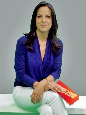Viviane Costa assume apresentação do Globo Esporte (Foto: TV Globo/ Clives Sampaio)