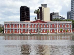 Prédio do novo Ginásio Pernambucano (Foto: Divulgação)