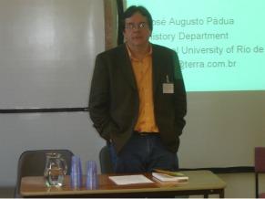 Prof. Jose Padua UFRJ (Foto: Divulgação)