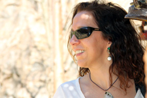 Cristina Miranda estava fascinada (Foto: TV Globo / Miriam Paço)