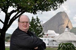 Jonathan Sterne (Foto: Renato Velasco)