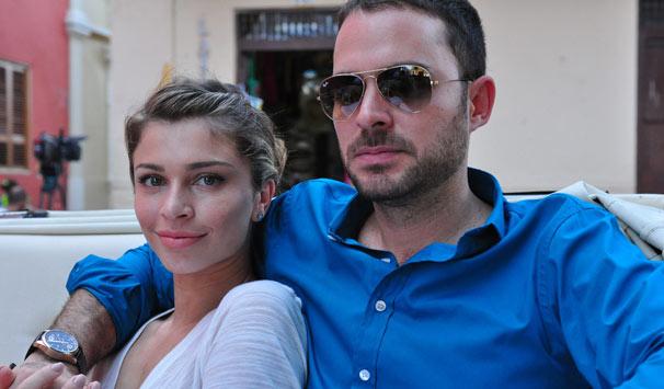 Cenas do casamento dos personagens de Grazi Massafera e Manolo Cardona foram gravadas na cidade (Foto: Estevam Avellar/ TV Globo)