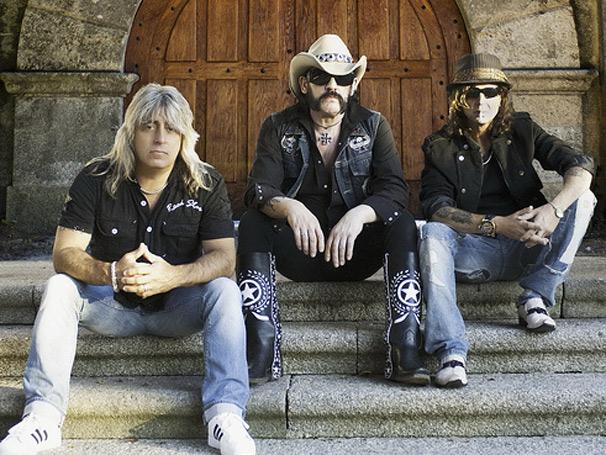 Motörhead é o terceiro grupo a se apresentar, hoje, no festival (Foto: Divulgação)
