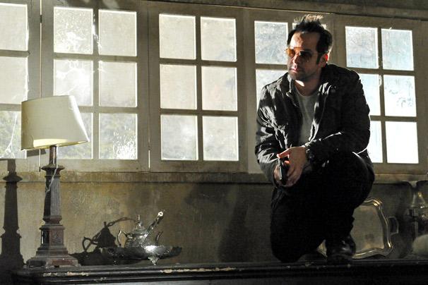 Murilo Benício em cena da terceira temporada de Força-tarefa (Foto: TV Globo)