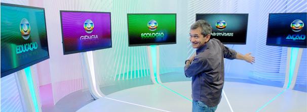 Globo Cidadania fala também sobre o trabalho do Instituto Nacional de Pesquisas da Amazônia (INPA) (Foto: TV Globo / Zé Paulo Cardeal)