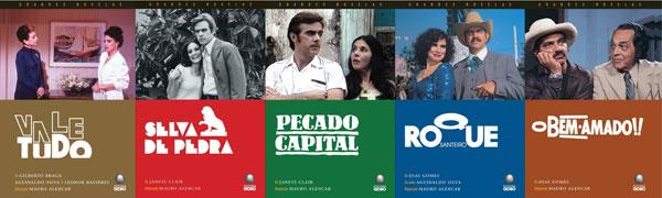 Coleção novelas (Foto: Divulgação)