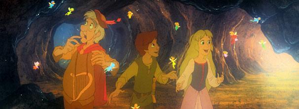 Taran viaja com seus amigos para impedir que Horned King libere os poderes do caldeirão (Foto: Divulgação)