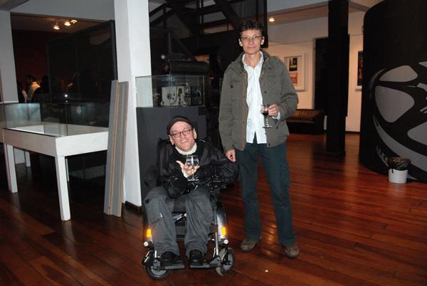 J. Olimpio junto ao amigo e sócio Elói Pires Ferreira (Foto: Arquivo Pessoal)