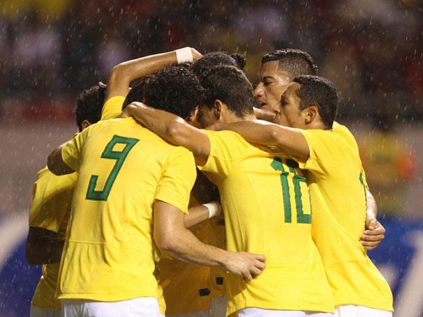 Após vitória contra a Costa Rica, seleção brasileira se prepara para enfrentar o México (Foto: Mowa Press / Globo Esporte.com)