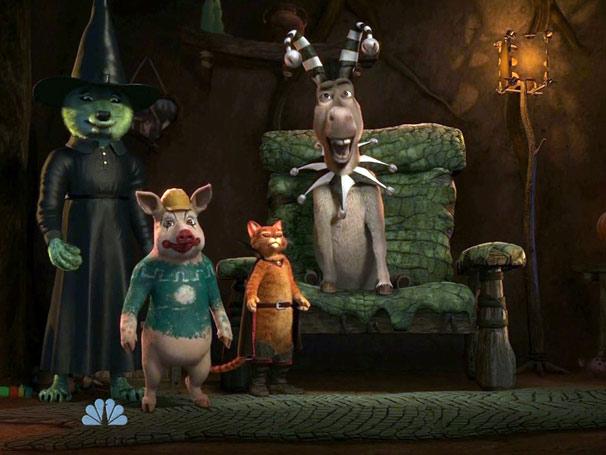 Shrek e seus amigos participam de uma competição de histórias de terror (Foto: Divulgação)
