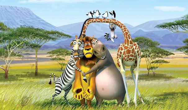 Madagascar 2 (Foto: Divulgação)