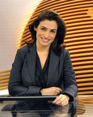 Renata Vasconcelos elege livro de Eça de Queirós (Foto: TV Globo / Estevam Avellar)