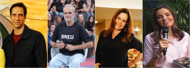 Jornalistas Livro (Foto: TV Globo)