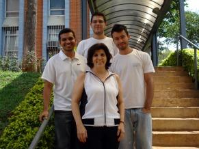 Katia Tannous e equipe (Foto: Divulgação)