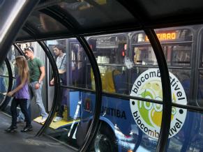 Ônibus biodiesel  (Foto: Divulgação)