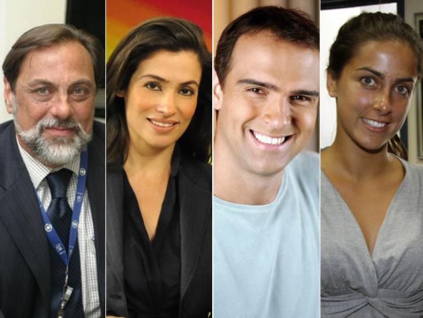 Jornalistas elegem seus livros marcantes para o Dia Nacional do Livro (Foto: TV Globo /  Clives Sampaio / Estevam Avellar / Márcio de Souza)