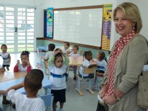 Helena Bomeny Subsecretária de ensino da Secretaria Municipal de Educação (Foto: Operator)
