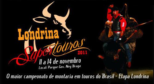 Londrina Super Touros 2011 (Foto: Divulgação/RPC TV)