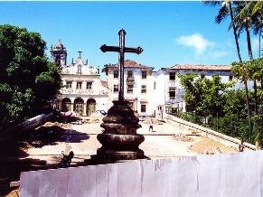 Globo Ciência: Igrejas (Foto: Divulgação/ Passarinho - Pref. de Olinda)