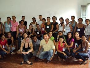 Capacitação de alfabetizadores pelo Movimento de Educação de Base (MEB) no Piauí (Foto: Divulgação)