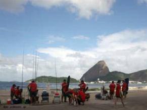 Campeonato de pesca realizado no Rio de Janeiro (Foto: Divulgação)