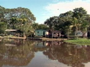Jutaí, município do Amazonas (Foto: Reprodução de TV)