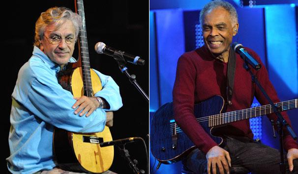 Gil e Caetano (Foto: Alex Carvalho/ TV Globo)
