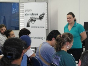 Joyce Pescarolo Ong Não Violência (Foto: Divulgação)
