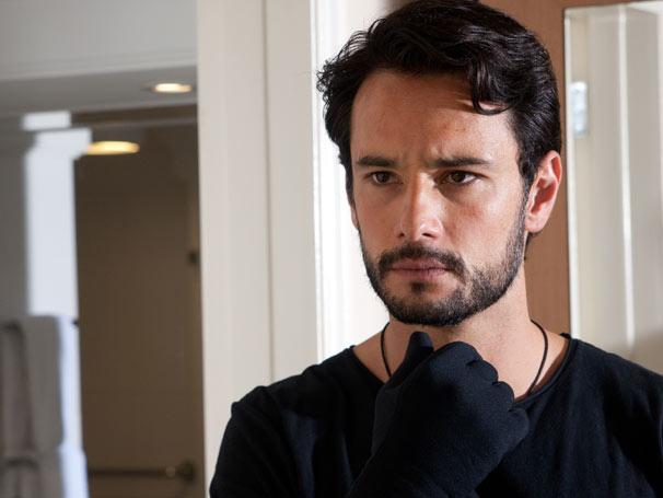 Rodrigo Santoro gravou em Porto Alegre cenas do especial Homens de Bem, que tem direção de núcleo assinada por Guel Arraes (Foto: Fabio Rebelo/ TV Globo)