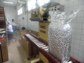 Embalagem de 20kg, embalada a vacuo (Foto: Divulgação)