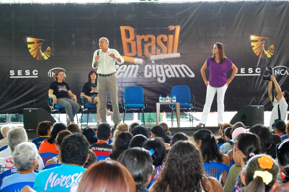 Brasil sem Cigarros em Manaus (Foto: divulgação/AVG - João Floriano)