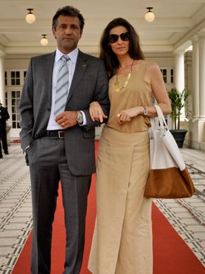 Domingos Montagner e Maria Fernanda Cândido são casal em minissérie (Foto: TV GLOBO / João Cotta)