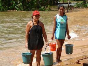 Moradoras de Belém, onde está a sede da Cáritas Regional II (Foto: Divulgação)