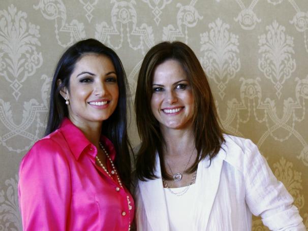 Em vídeo, Patrícia Poeta e Renata Ceribelli comentam novos rumos profissionais (Foto: TV Globo/ Camila Crespo)