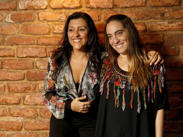 Regina Casé e  (Foto: TV Globo / Alex Carvalho)