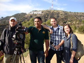 Globo Universidade - Diário da Produção - UCLA (Foto: Divulgação)