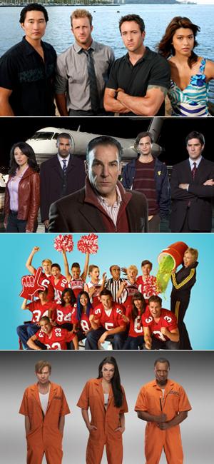 Hawaii Five-0, Mentes Criminosas, Glee e Agentes Fora da Lei serão exibidas em janeiro (Foto: Divulgação)