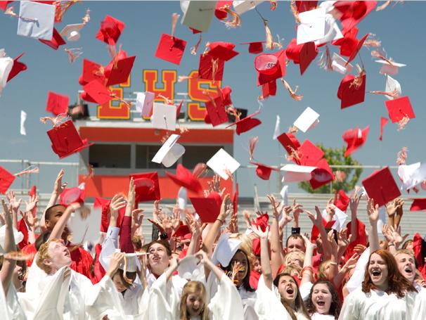 Alunos do East High se formam e vão para a faculdade (Foto: Divulgação)