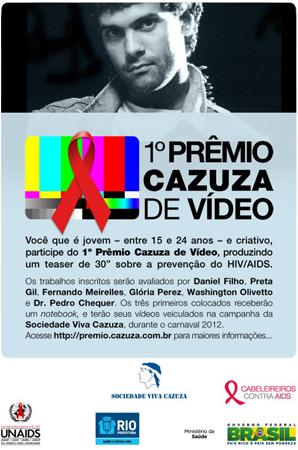 ONG Viva Cazuza cria concurso para chamar atenção dos jovens (Foto: Divulgação)