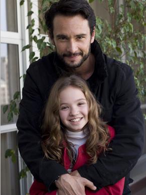 Rodrigo Santoro com a atriz (Foto: TV Globo / Fabio Rebelo)