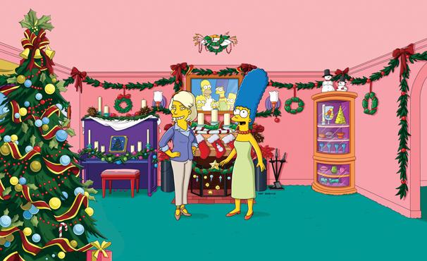 rede globo os simpsons simpsons viram fantoche e. Black Bedroom Furniture Sets. Home Design Ideas