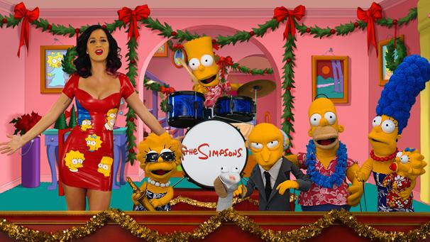 Katy Perry faz uma participação especial na homenagem dos Simpsons aos Muppets (Foto: Twentieth Century Fox / Divulgação)