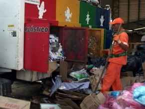 Coleta de lixo (Foto: Divulgação)