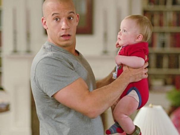 Vin Diesel vive um agente disfarçado em 'Operação Babá' (Foto: Divulgação)