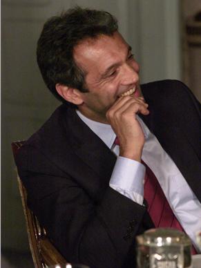 Paulo Ventura vira presidente por acaso (Foto: TV Globo / Zeca Guimarães)