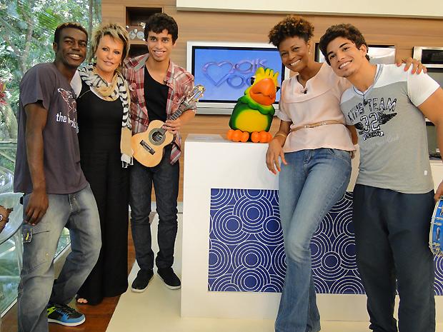 Ana Maria Braga em Malhação (Foto: TV Globo / Malhação)
