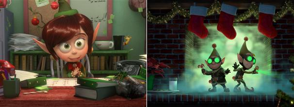 Os elfos enfrentam vários desafios para fazer o natal acontecer (Foto: Divulgação / Disney)