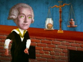 Antoine-Laurent de Lavoisier (Foto: Reprodução da TV)