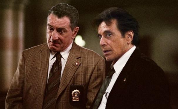 Robert De Niro e Al Pacino atuam juntos em 'As Duas Faces da Lei' (Foto: Divulgação)